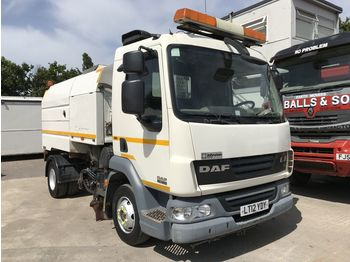 DAF LF45.160 Johnston VT551 Sweeper - zametacie vozidlo